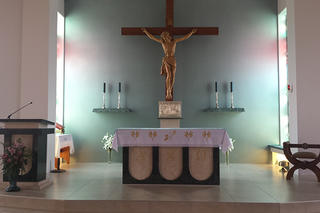 Morrinsville Catholic Church Altar